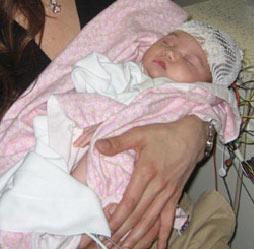 Sarah Jane Donohue at birth